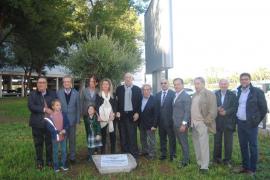 Homenaje a título póstumo a Pedro Meaurio, primer director civil del aeropuerto de Son Sant Joan