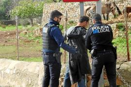 Despliegue policial en Andratx por una violenta disputa entre dos hermanos