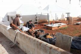 La tercera semana de excavaciones en el Cementeri Vell, en imágenes (Fotos: Daniel Espinosa).