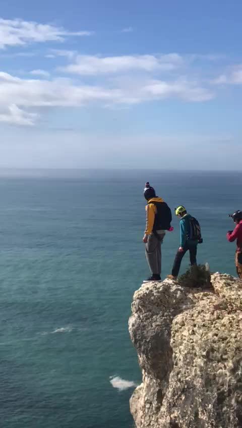 Un salto base acaba de la peor forma posible en Portugal