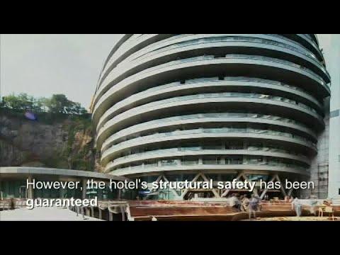 Abierto un increíble hotel de 5 estrellas construido bajo tierra en Shanghai