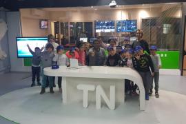 """«""""Estar bien informado es muy importante"""", es el titular de la primera noticia publicada por los alumnos del CEIP Sant Antoni tr"""