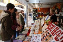 Abren las 246 casetas de la Feria de Navidad de Palma