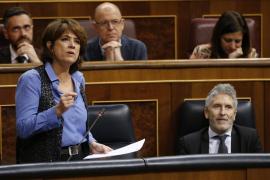 La abstención de ERC y Bildu permite la segunda reprobación de la ministra de Justicia en el Congreso