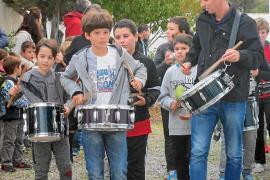 Can Blau celebra por todo lo alto Santa Cecilia, patrona de los músicos