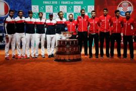 Francia y Croacia abren su pulso por la última Copa Davis