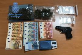 Desmantelado un punto de venta de droga en el Polígono de Levante