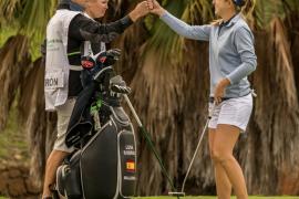 Luna Sobrón, cuarta en el Open de España de golf