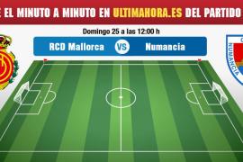 Real Mallorca-Numancia, en directo