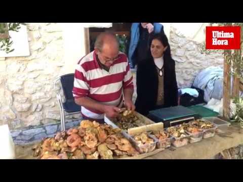 'Esclata-sangs' a diez euros el kilo en una feria en Mancor que ha cambiado de nombre