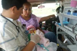 Nace una niña con el corazón fuera del tórax en Bolivia