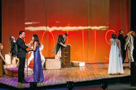 La versión «modernizada» de 'Muerte en el Nilo' recala en el Auditórium de Palma