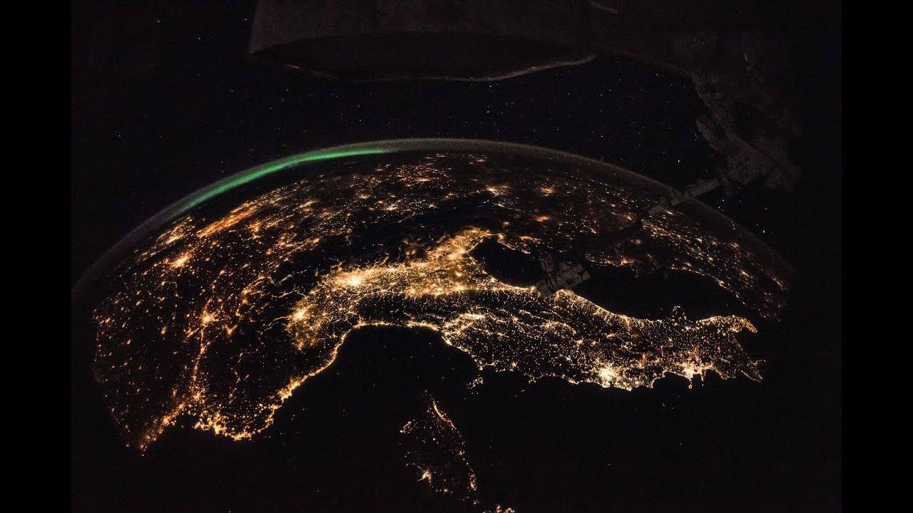 Las Islas Baleares, vistas desde el espacio