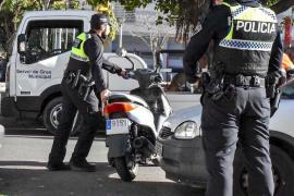 La Policía Local de Palma recupera en 2018 más de 160 vehículos robados