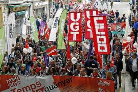 La mitad de los trabajadores de Baleares tiene un salario máximo de 1.061 euros mensuales