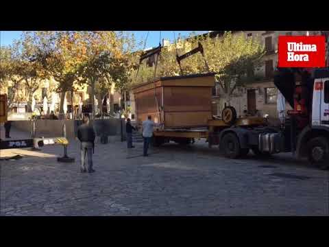 El último quiosco de Gelats Valls en Pollença ya es historia