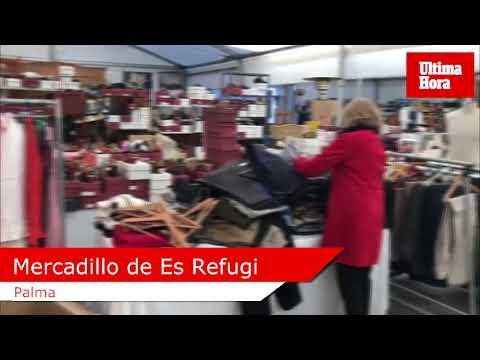 La Misericòrdia acoge el tradicional mercadillo de Navidad de Es Refugi