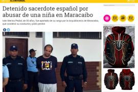 El cura detenido en Venezuela por abusos trabajó en un colegio de Granada