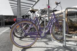 Palma habilitará dos nuevos aparcamientos para bicicletas