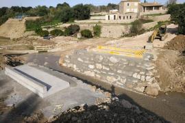 El puente militar de Artà estará en funcionamiento este martes