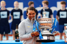 Nadal defenderá su undécimo título en Barcelona