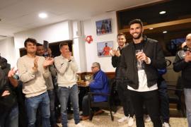 Miquel Amengual ya tiene su peña en el Atlético Baleares