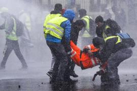 Altercados en París durante la manifestación de los 'chalecos amarillos'