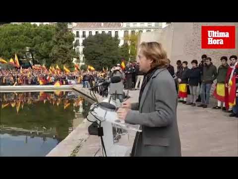 Más de 300 mallorquines claman por la unidad de España en Madrid