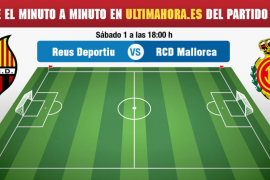 Minuto a minuto del Reus-Real Mallorca