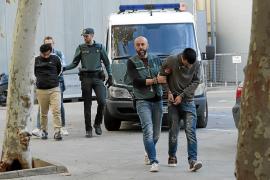 Los seis asaltantes chilenos ingresan en prisión tras inculparse entre ellos