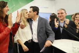 Moreno (PP): «Han acabado 40 años de hegemonía»