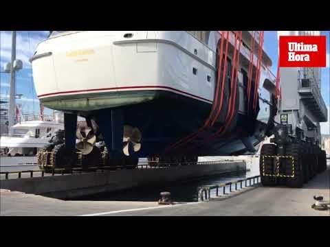 Palma cuenta con la grúa más grande de Europa para el izado de barcos de recreo