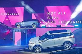 Land Rover presentó en Londres el nuevo Range Rover Evoque