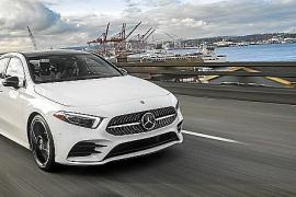 El Mercedes Benz Clase A Sedán, en febrero de 2019