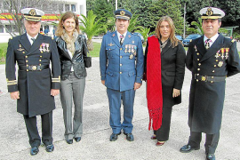 El acuartelamiento del Puig Major celebra la patrona del Ejército del Aire