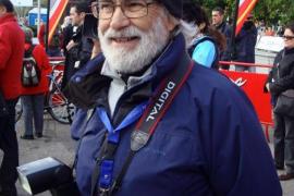 El fotógrafo deportivo Tomás Monserrat se recupera de un infarto