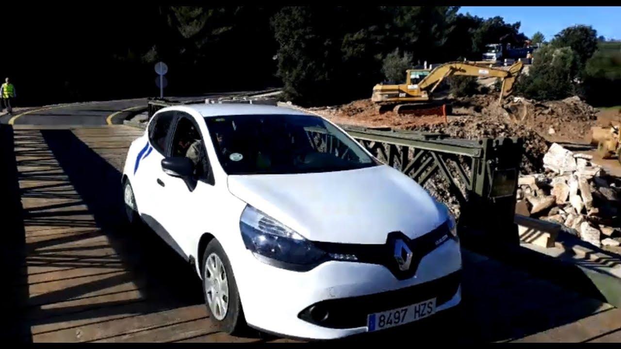 El puente militar de Artà estará cerrado al tráfico por las noches