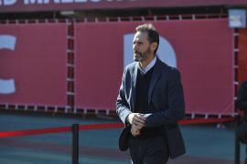Vicente Moreno recuerda que el Mallorca no tirará la Copa
