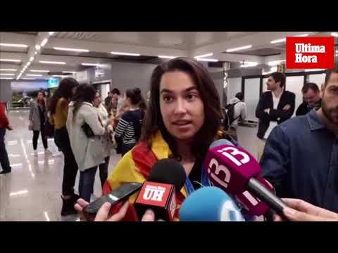 Cata Coll, la portera de moda, ya está en Palma