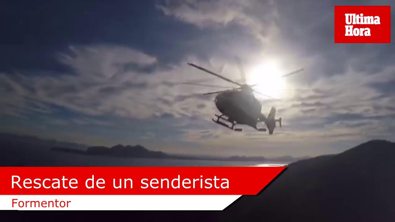 Rescatado un senderista que se había extraviado en Formentor