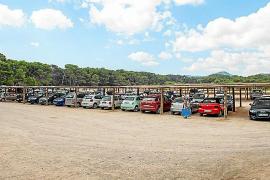 El polémico parking de Cala Agulla en suelo rústico proyecta 320 nuevas plazas