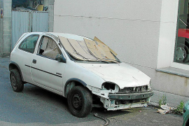 Abandonar vehículos en la calle será castigado de forma severa en Llucmajor