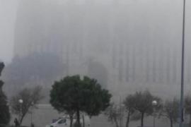 Mallorca amanece envuelta en niebla