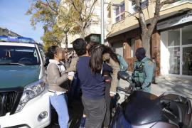 Tensión entre los familiares de los detenidos en una operación contra robos en Mallorca