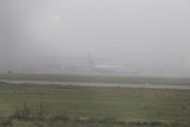 La niebla deja ligeros retrasos en el aeropuerto de Palma