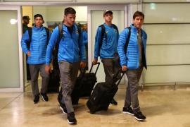 La plantilla de Boca Juniors ya está en Madrid