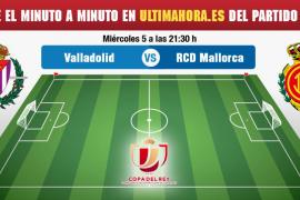 Real Valladolid-Real Mallorca, en directo