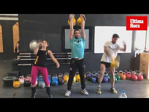 El 'Kettlebell' está de moda en los gimnasios de Mallorca