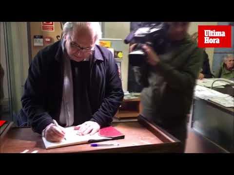 Firmas en Palma en apoyo a los «presos políticos»