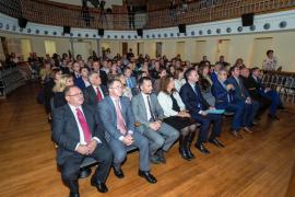 El acto del 40 aniversario de la Constitución celebrado en Santa Eulària, en imágenes (Fotos: Marcelo Sastre).